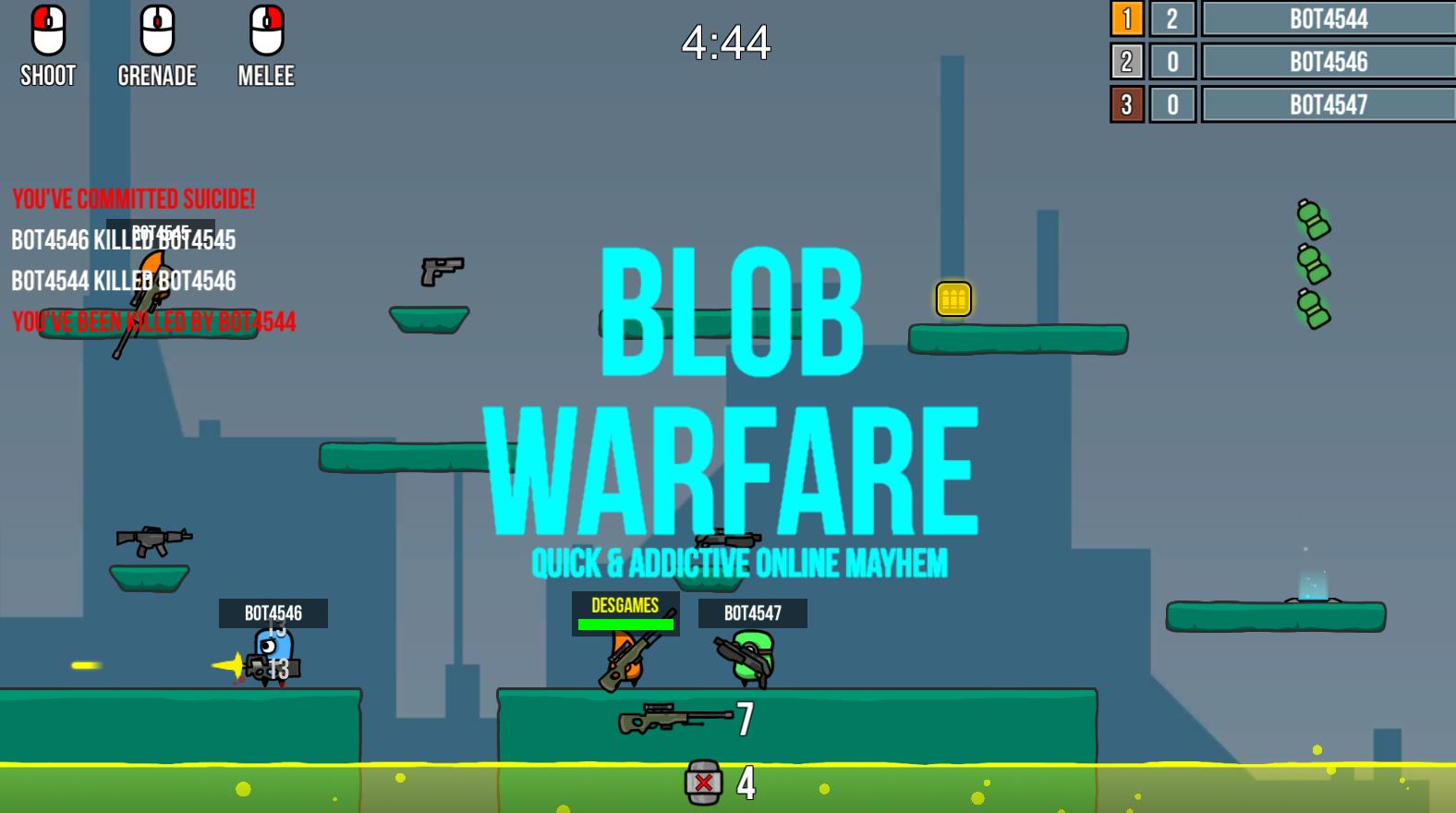 Blob Warfare