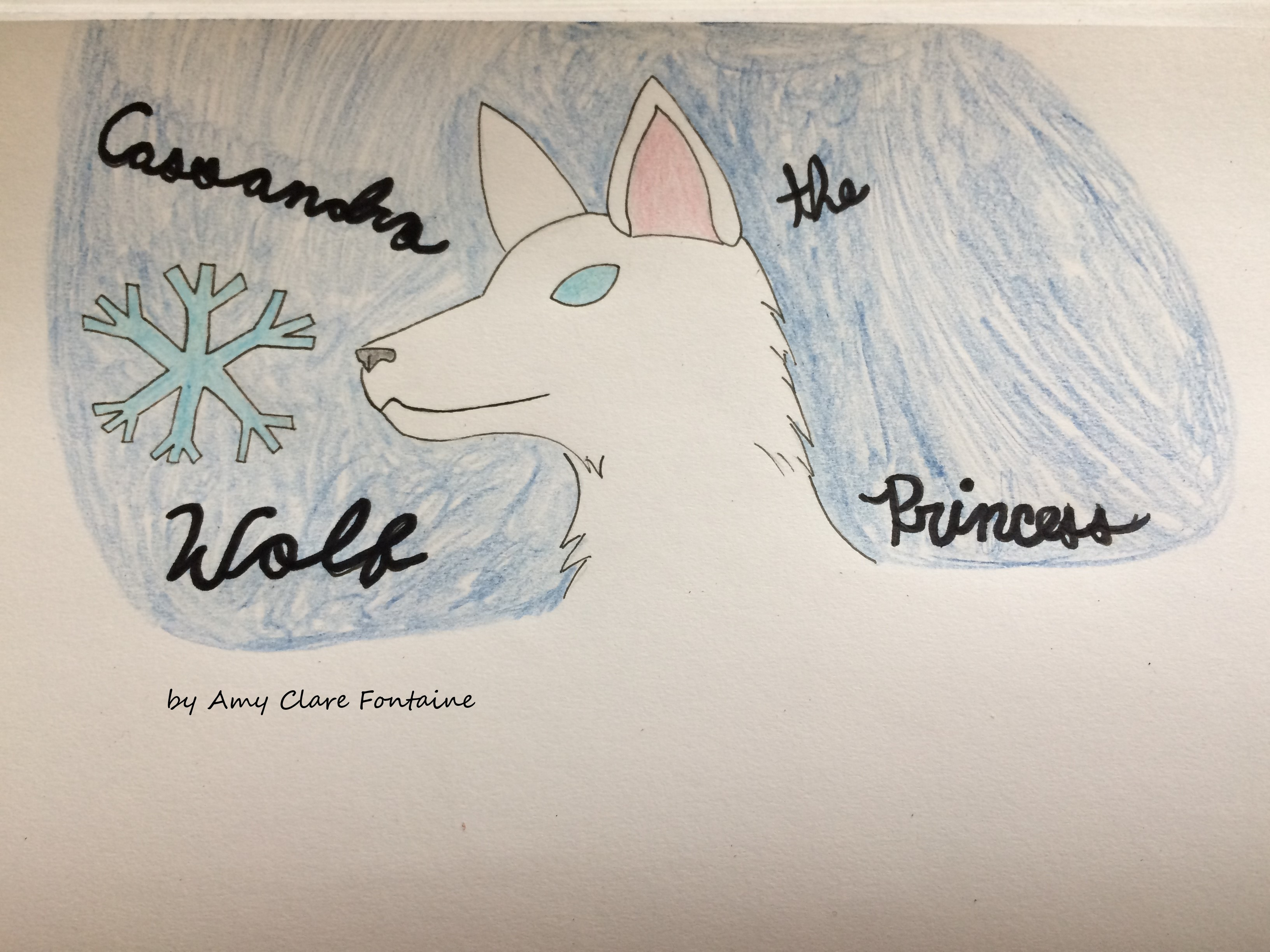 Cassandra the Wolf Princess: A Text-based Twine Game About Anxiety