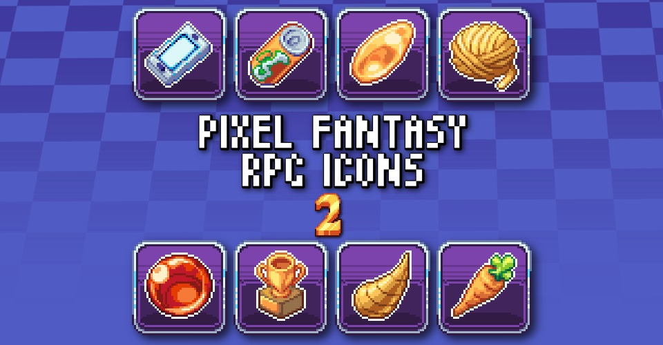 PIXEL FANTASY RPG ICONS - PACK 2