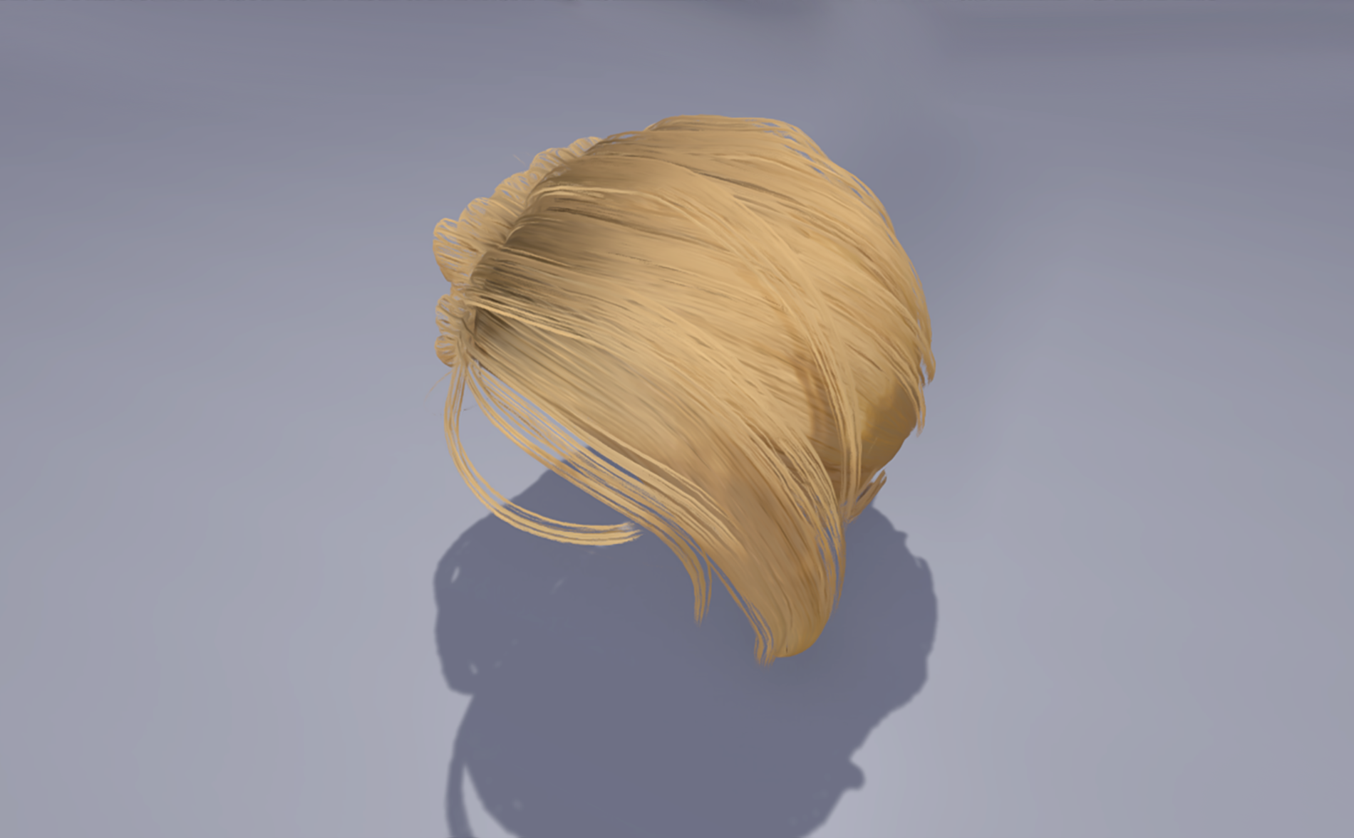 Unreal Engine+Unity Hair Shaders