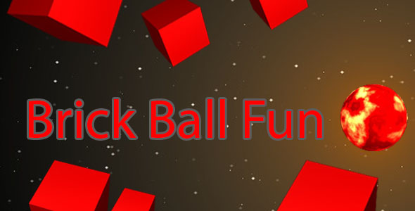 Brick Ball Fun 2d Single Player Game brick breaker