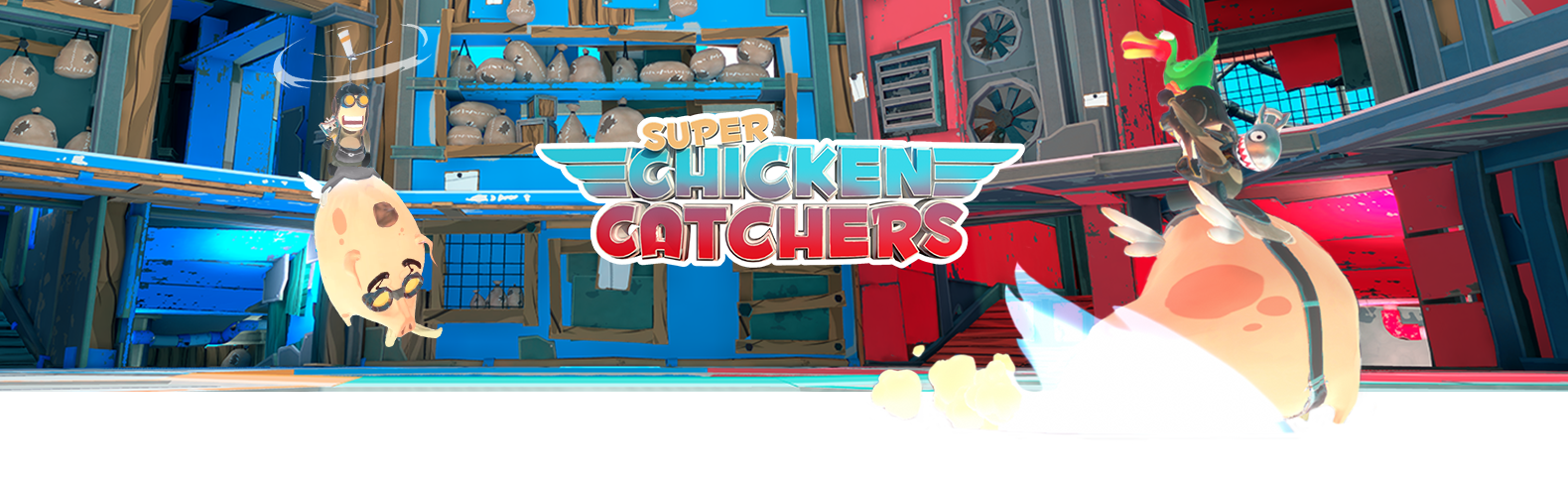 Super Chicken Catchers (old student project version) 2017