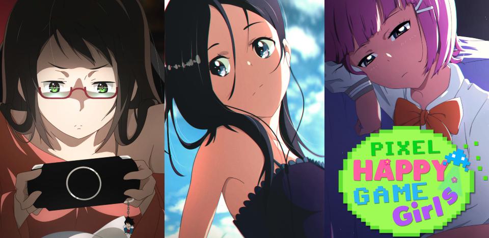 Pixel Happy Game Girls