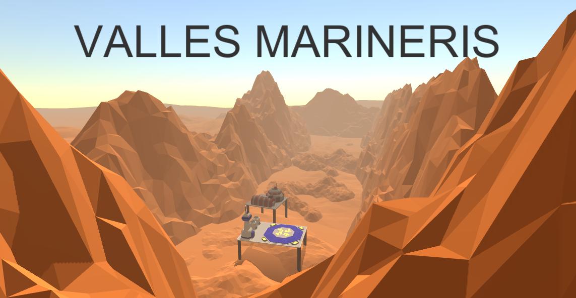 Valles Marineris - Mars Colony Builder