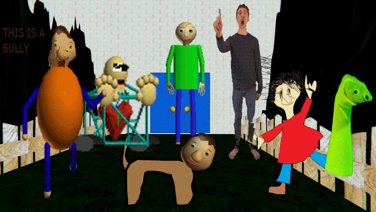 Baldi Maze In Education And Learning (Original Creepyface's Maze)