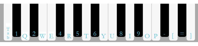 ReferenceNoteKeyboard piano key controls