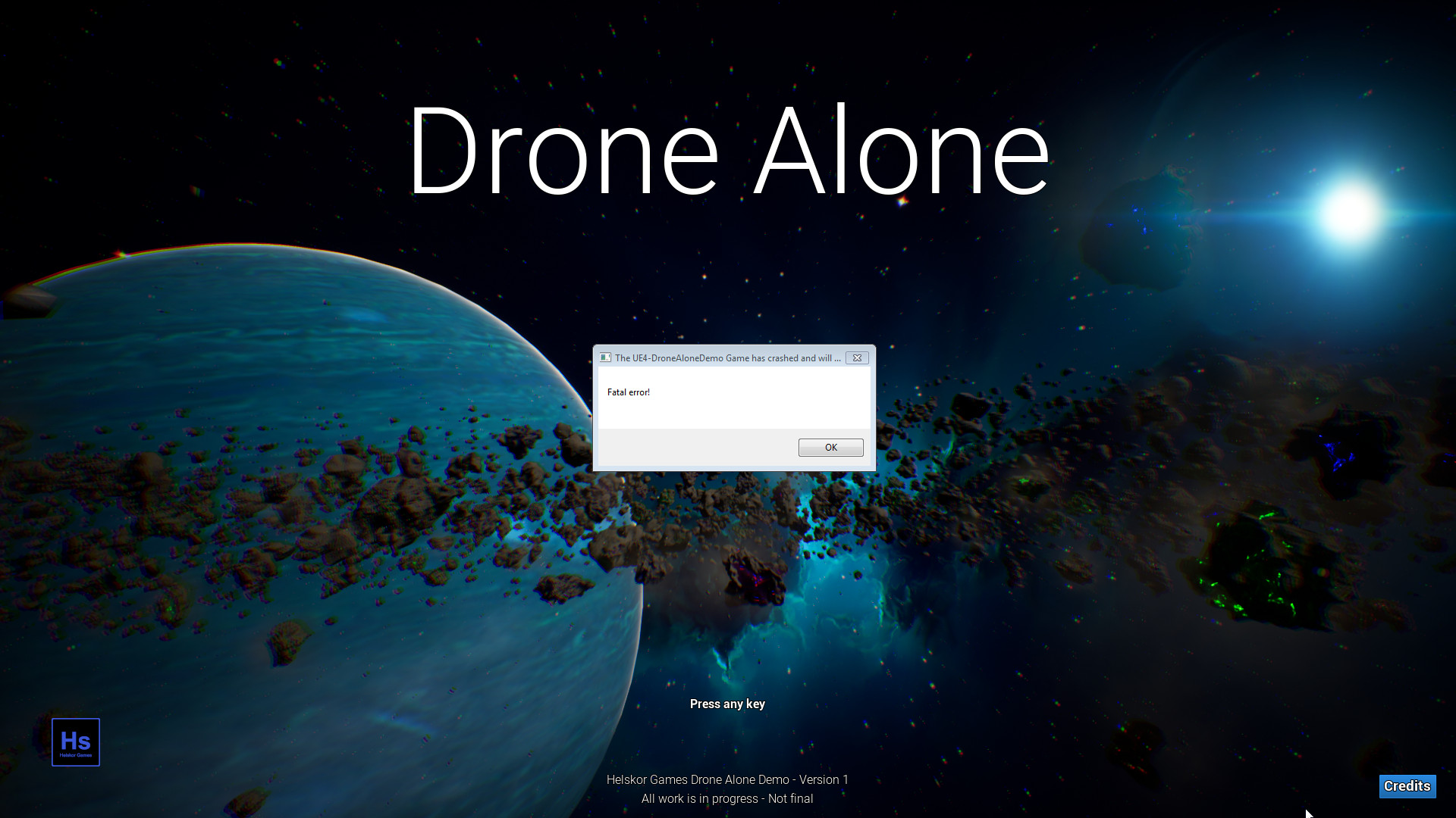 Drone Alone (demo) by Helskor Games