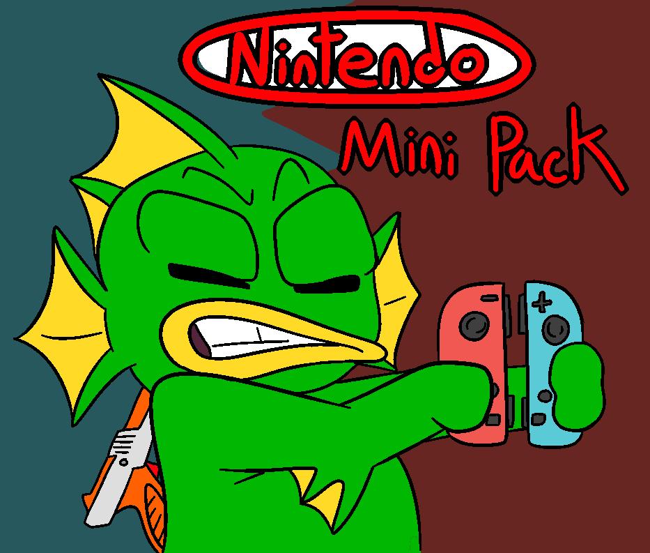 Mini Nintendo Weapon Pack