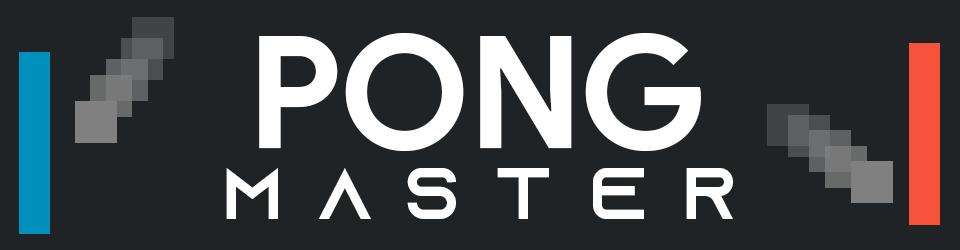 Pong Master Banner