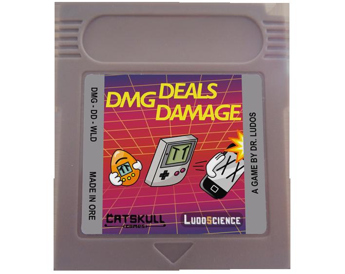 Nouveau Jeu Game Boy: DMG Deals Damage P2HOiY