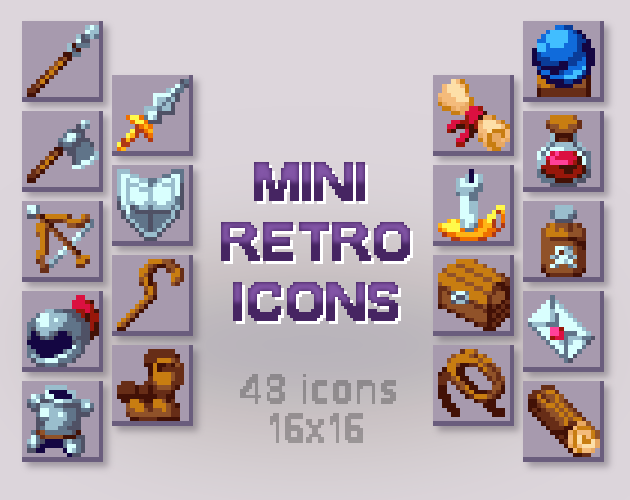 Mini Retro Icons