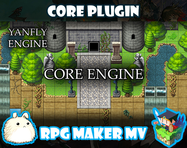 Core Engine plugin for RPG Maker MV by Yanfly Engine Plugins