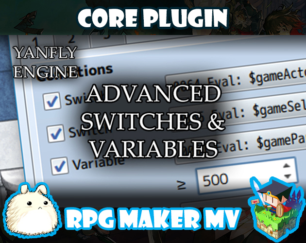 Advanced Switches and Variables plugin for RPG Maker MV by