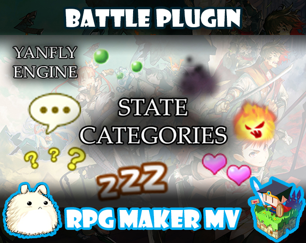 State Categories plugin for RPG Maker MV by Yanfly Engine Plugins