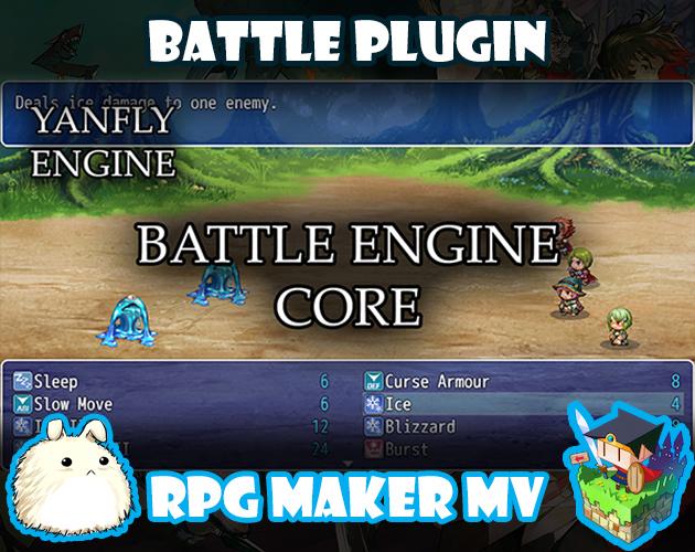 Battle Engine Core plugin for RPG Maker MV by Yanfly Engine