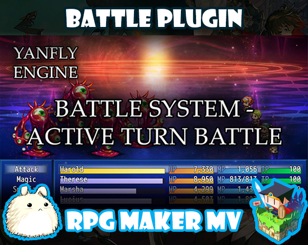 Battle System - ATB plugin for RPG Maker MV by Yanfly Engine