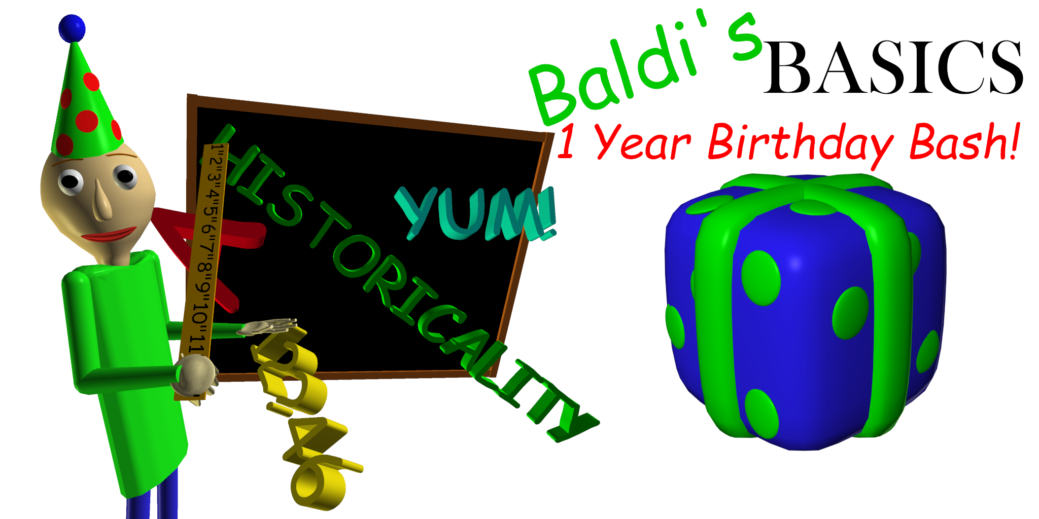 Baldi's Basics Birthday Bash