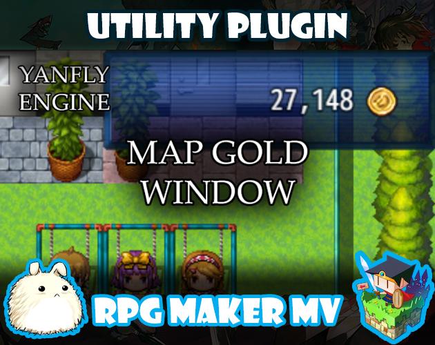 Map Gold Window plugin for RPG Maker MV by Yanfly Engine ...