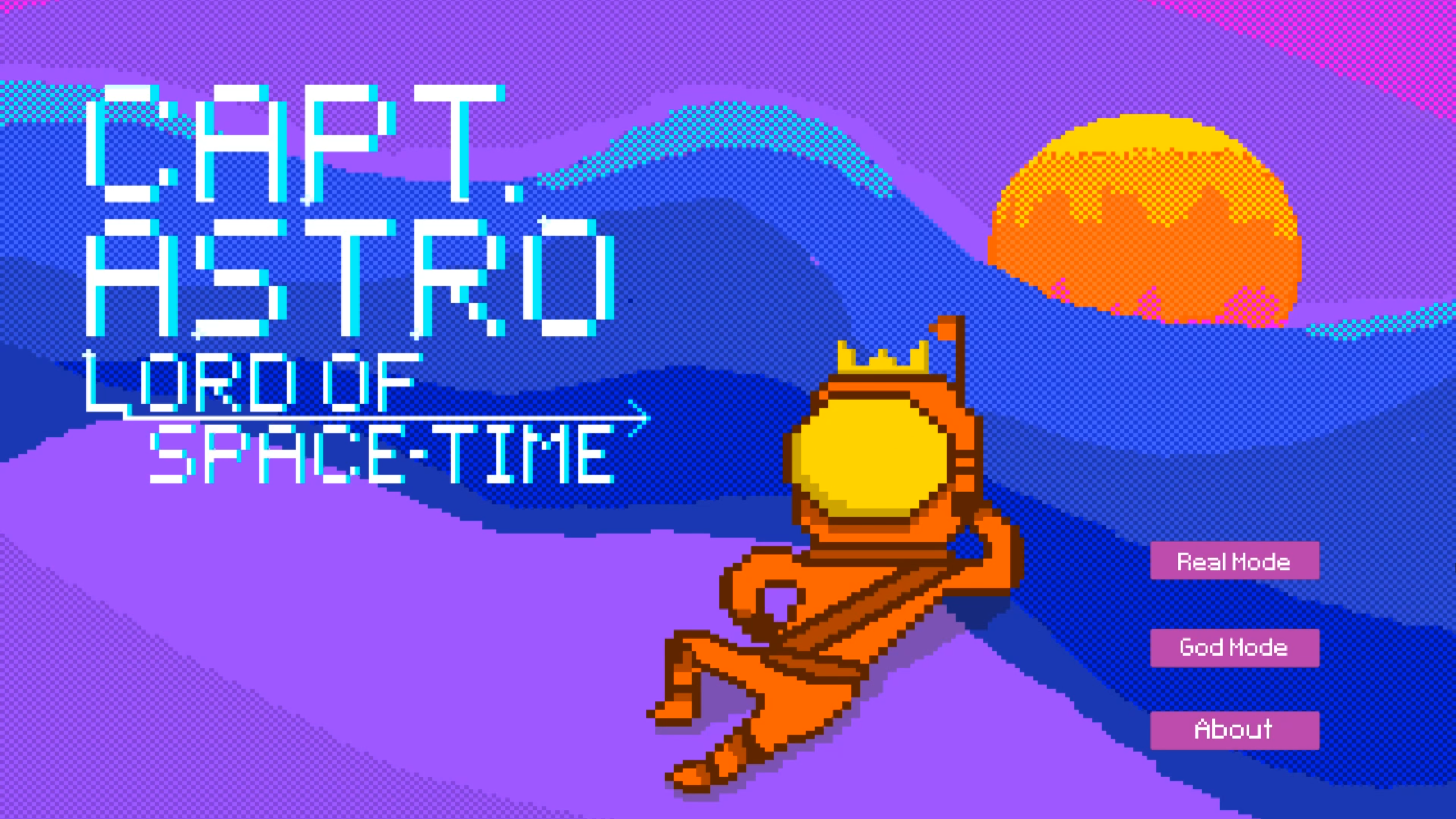 Captain Astro: Lord of Space-Time