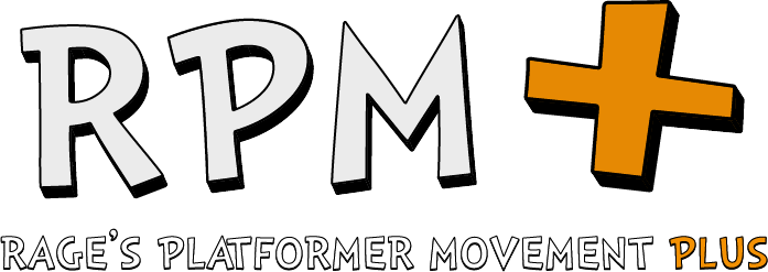 RPM - Rage's Platformer Movement Plus by Elsian
