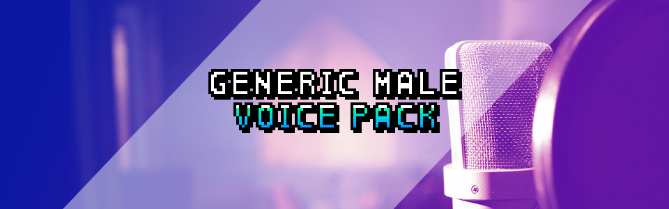 Generic Male Voice Pack