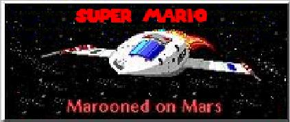 Super Mario in Marooned on Mars