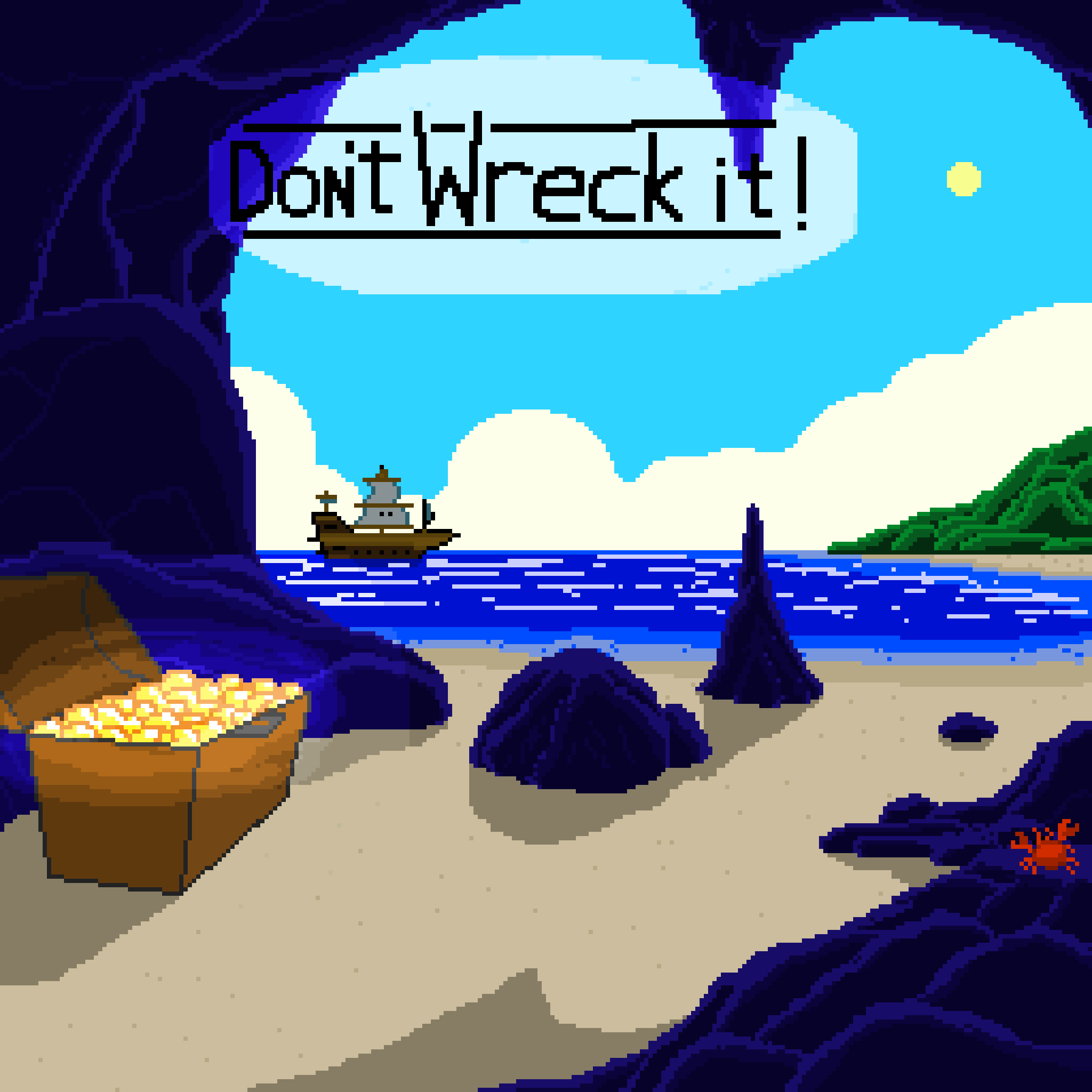 Don't wreck it!