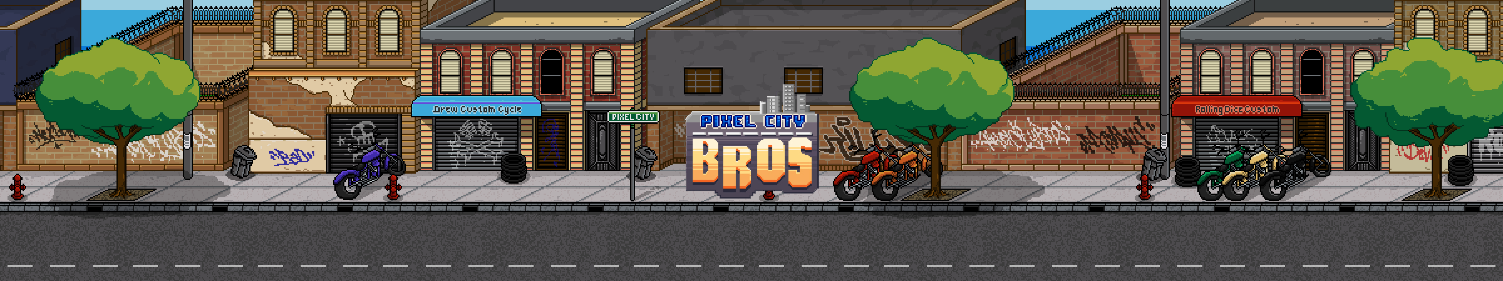 Pixel City Bros
