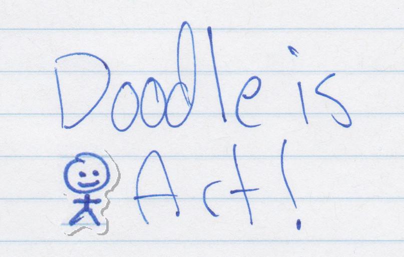 Doodle is Art