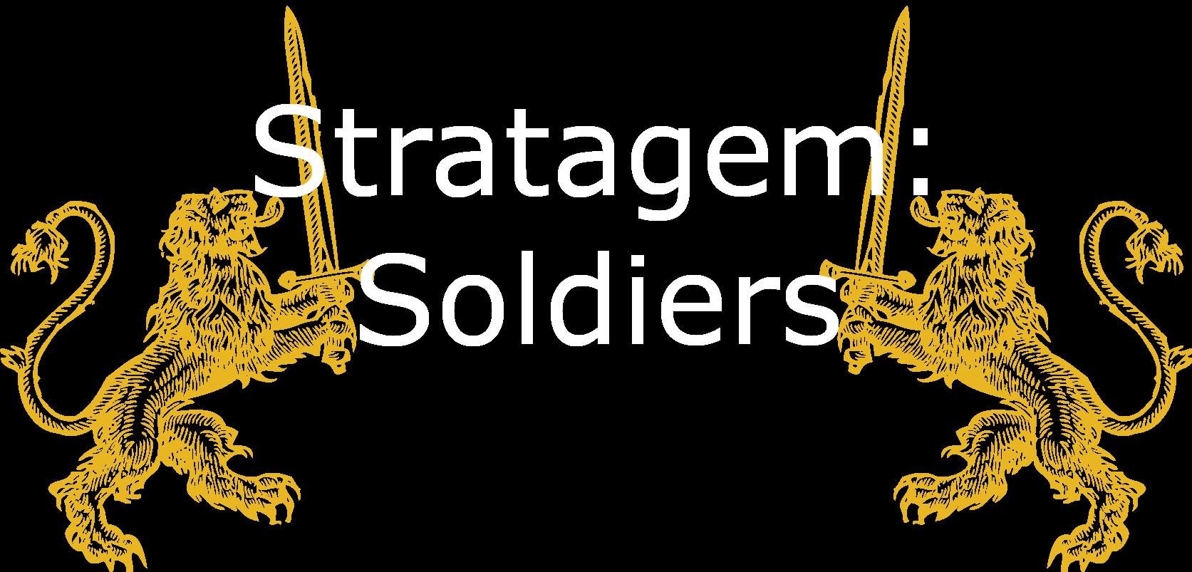 Stratagem: Soldiers