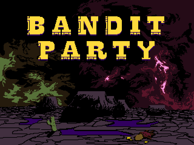 Bandit Party title screen