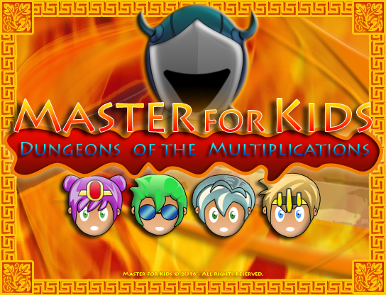 Free Master for Kids - Multiplications
