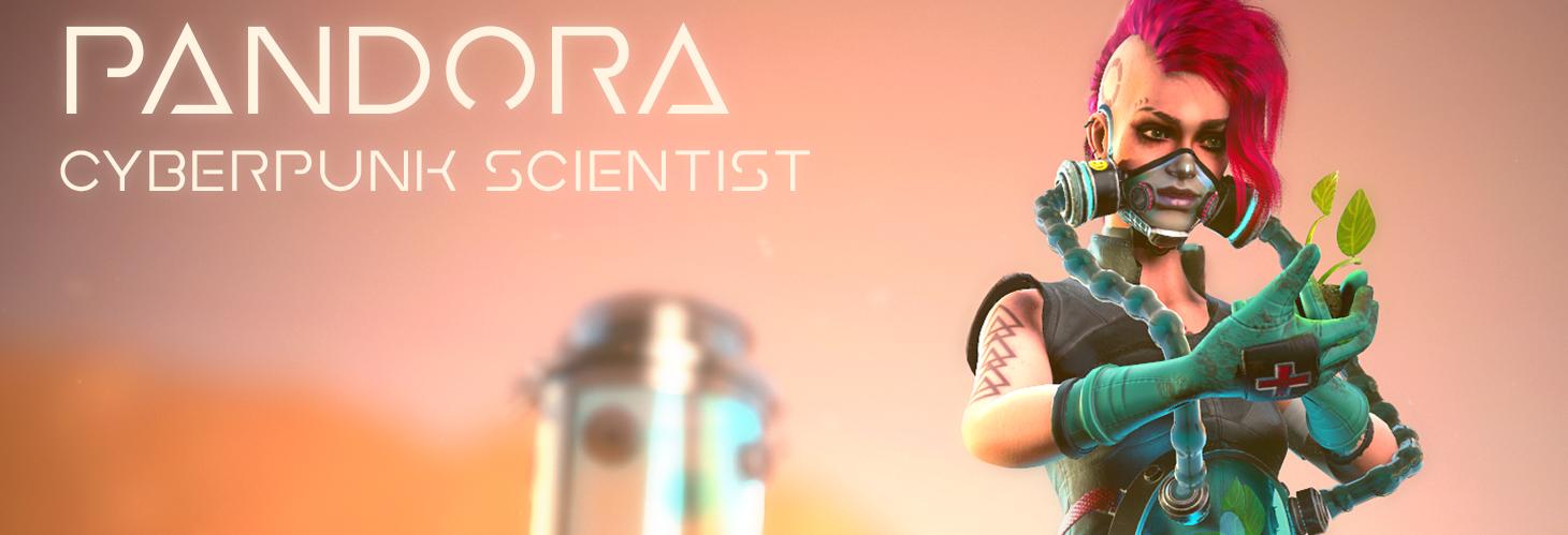 Pandora - Cyberpunk Scientist