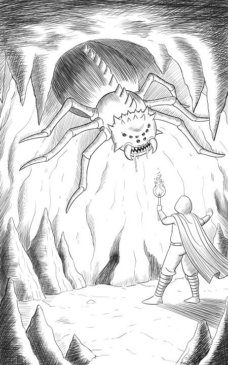 Massive spider!