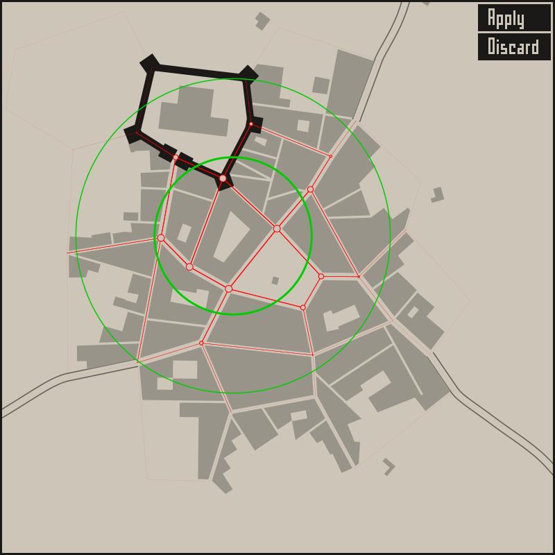 0 5 2: Warp tool - Medieval Fantasy City Generator by watabou