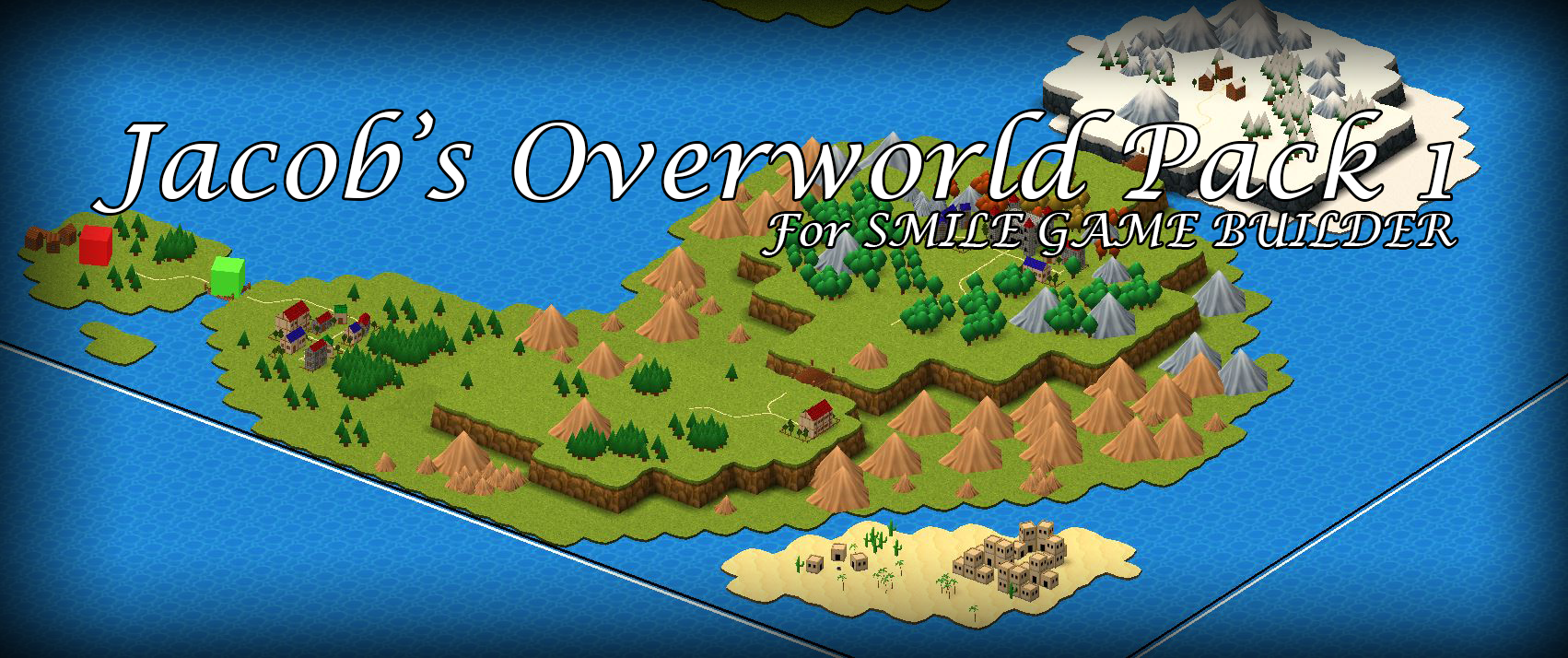 Jacob's Overworld Pack 1 for SMILE GAME BUILDER