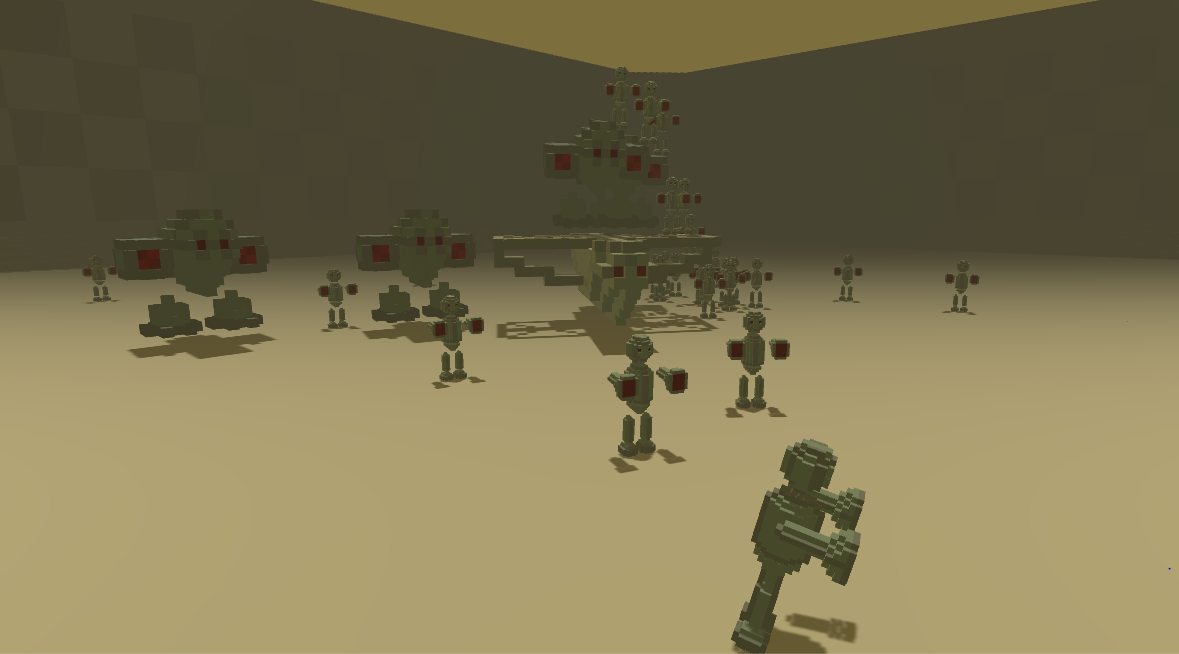 Red Voxel