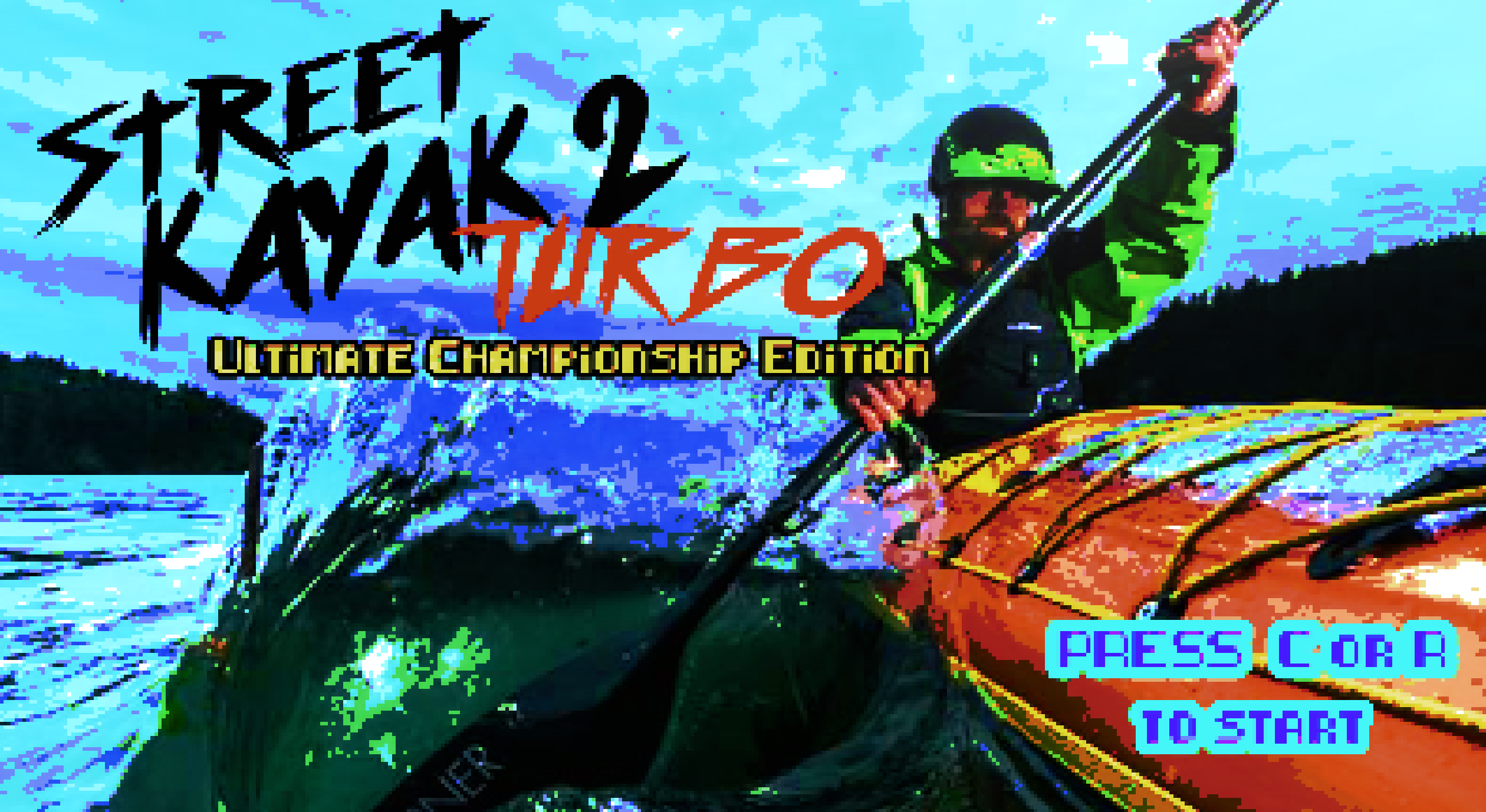 Street Kayak 2 Turbo Ultimate Championship Edition