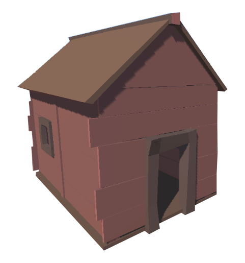 HOUSE_02_Zombie_Shooter_LowPoly_Bug_Games