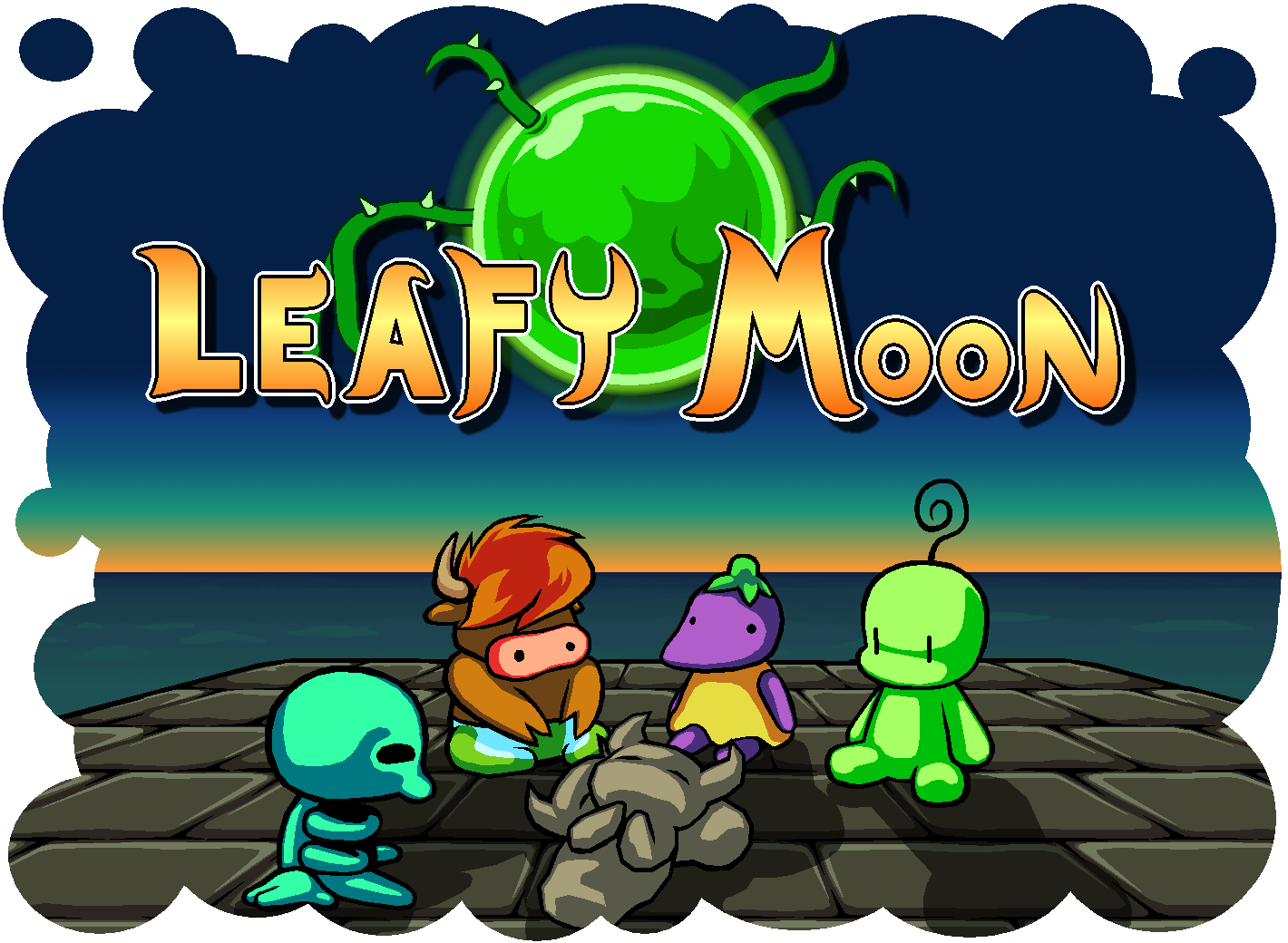 Leafy Moon