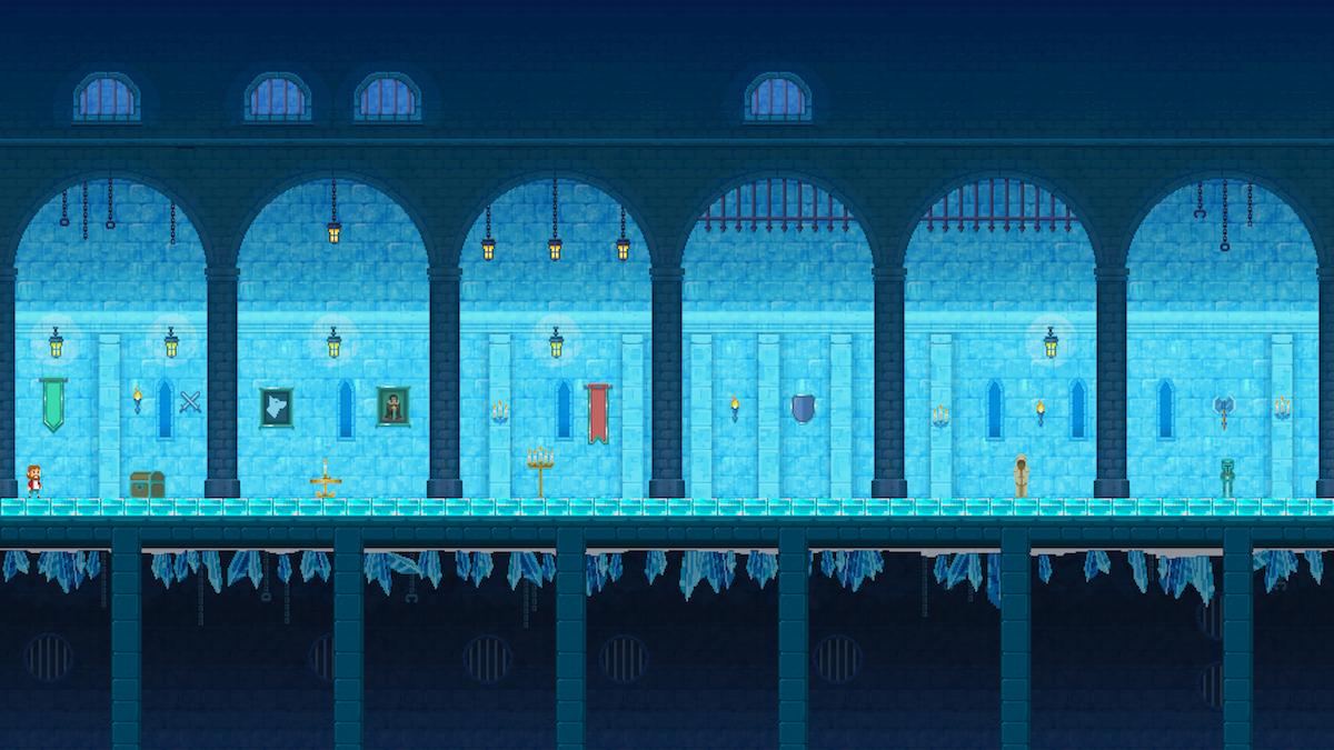 Ice Castle Backgroud