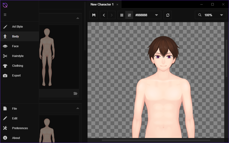 check out the in progress default male template mannequin by ar14