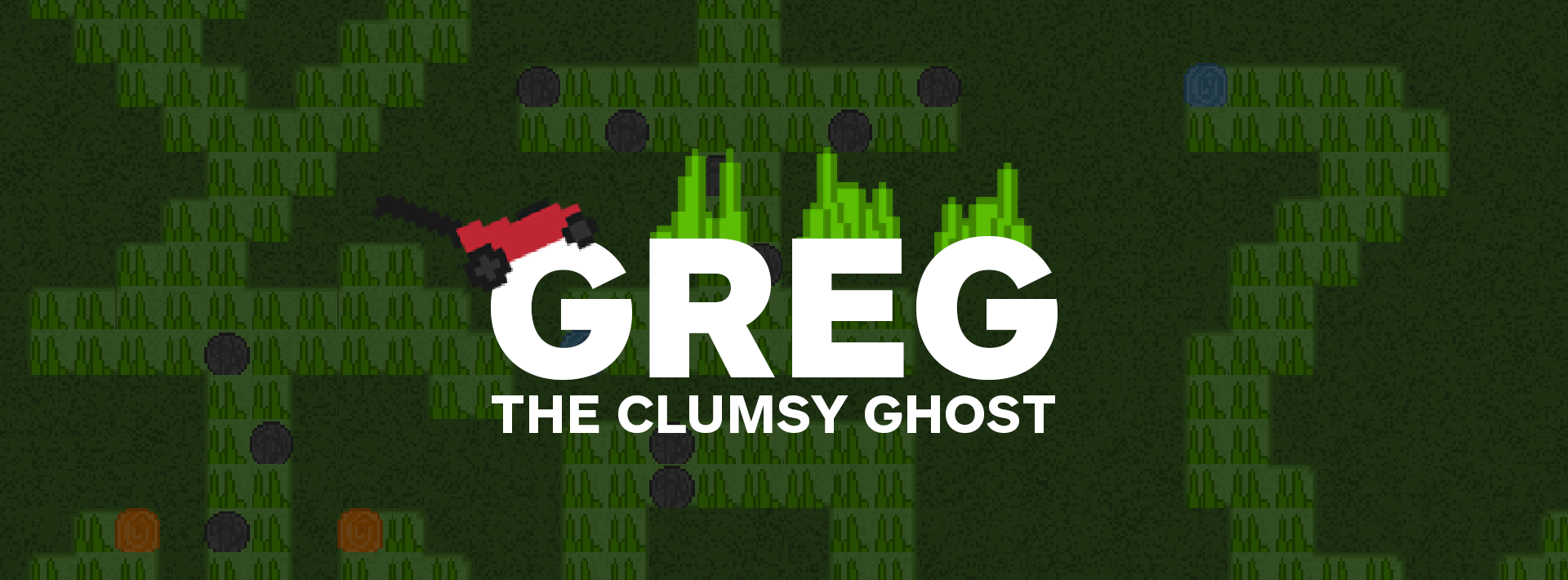 Greg the Clumsy Ghost
