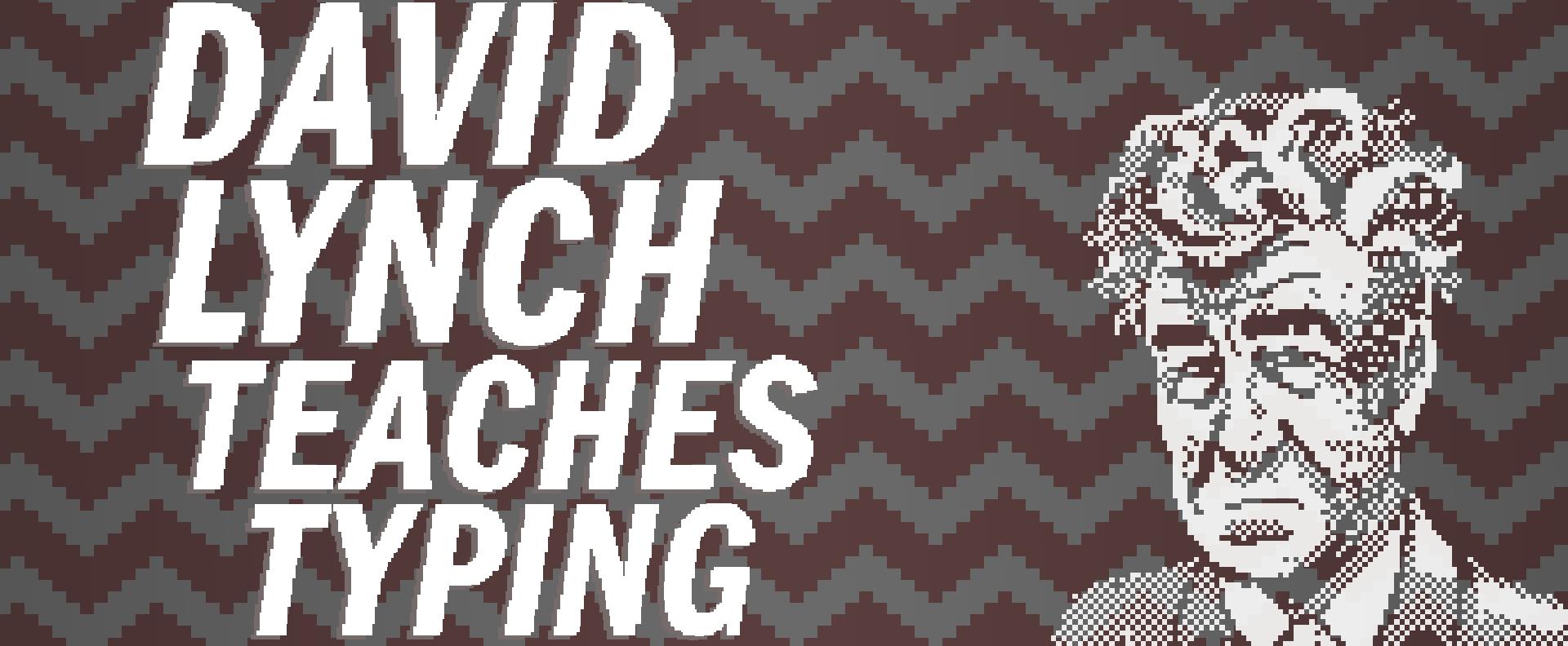 David Lynch Teaches Typing