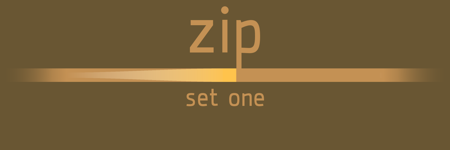 zip: set one