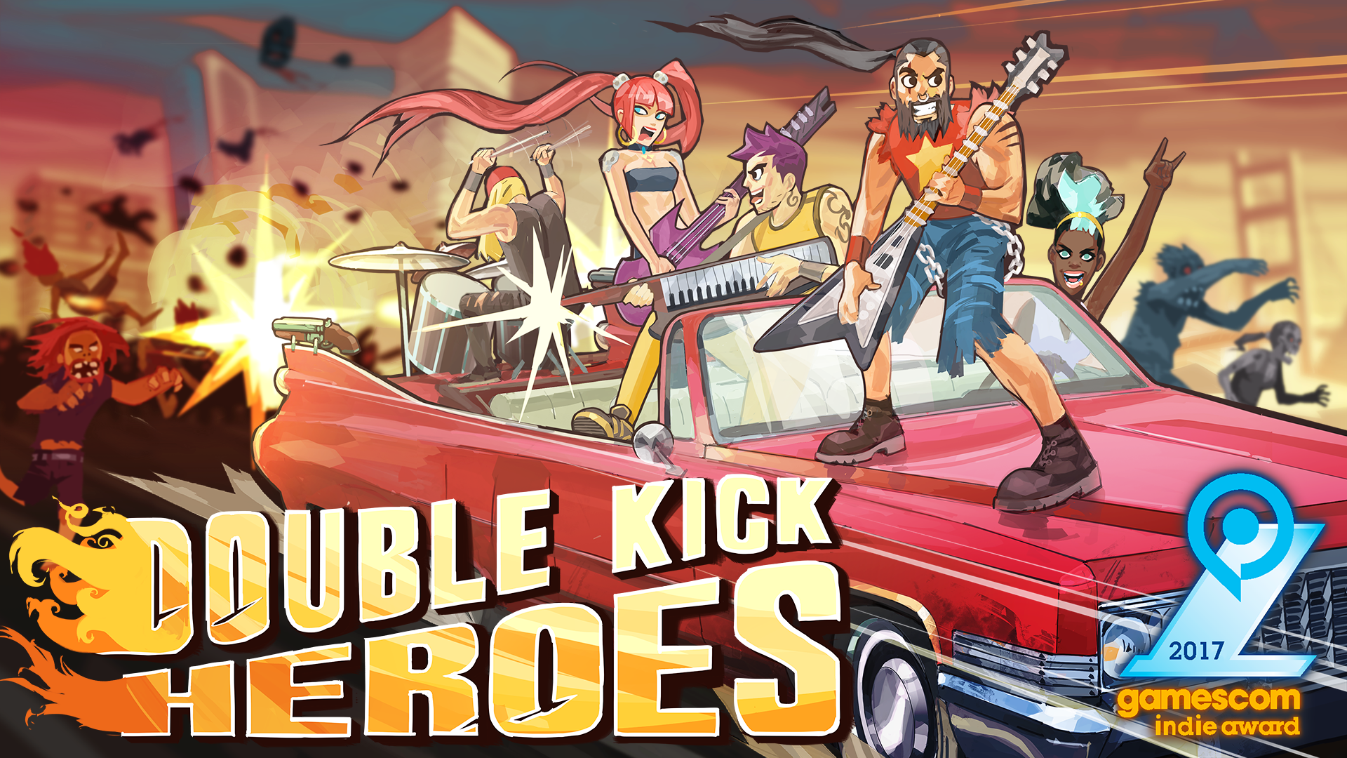 Double Kick Heroes - OST