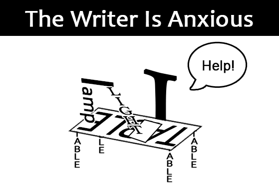 The Writer Is Anxious