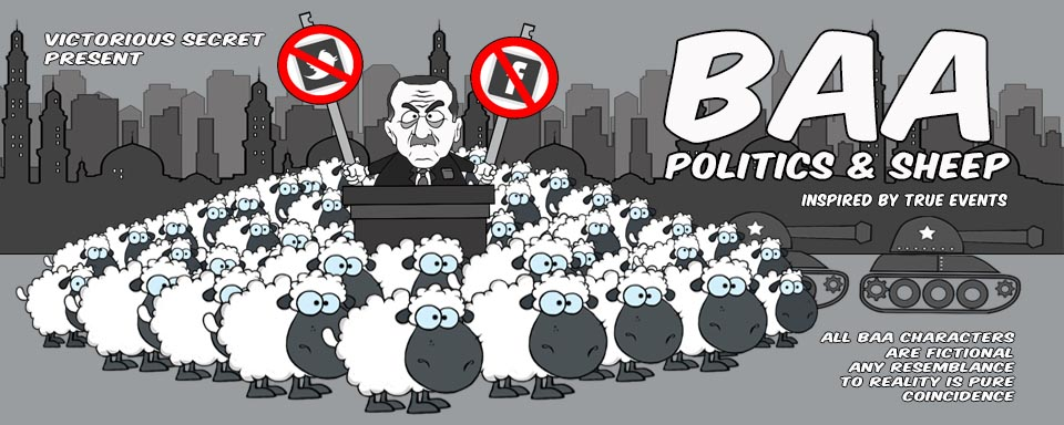 Baa - Politics and Sheep