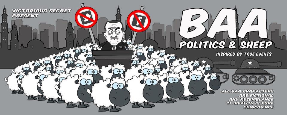 Baa - Politics and Sheep