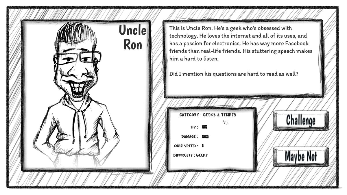Uncle Ron Profile Board